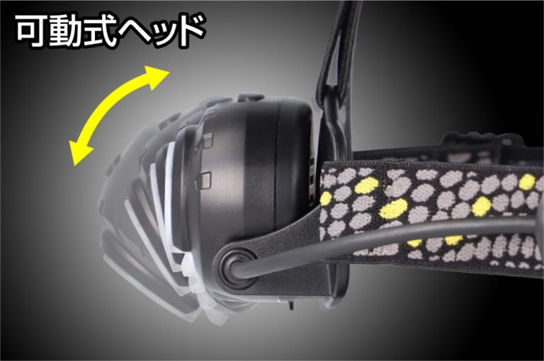 HEAD WARSシリーズ HW-X634H  GENTOS ジェントスヘッドライト 【画像4】