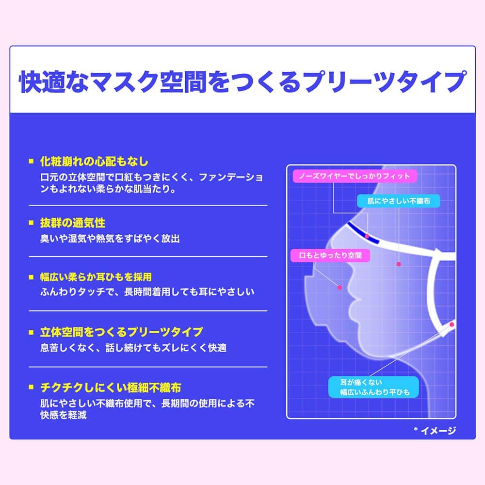 suppina 個包装マスク 大人用 50枚入【画像4】