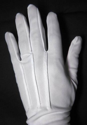 白ナイロン礼装手袋【画像2】