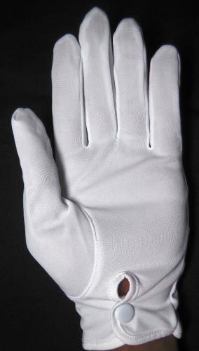 白ナイロン礼装手袋【画像3】