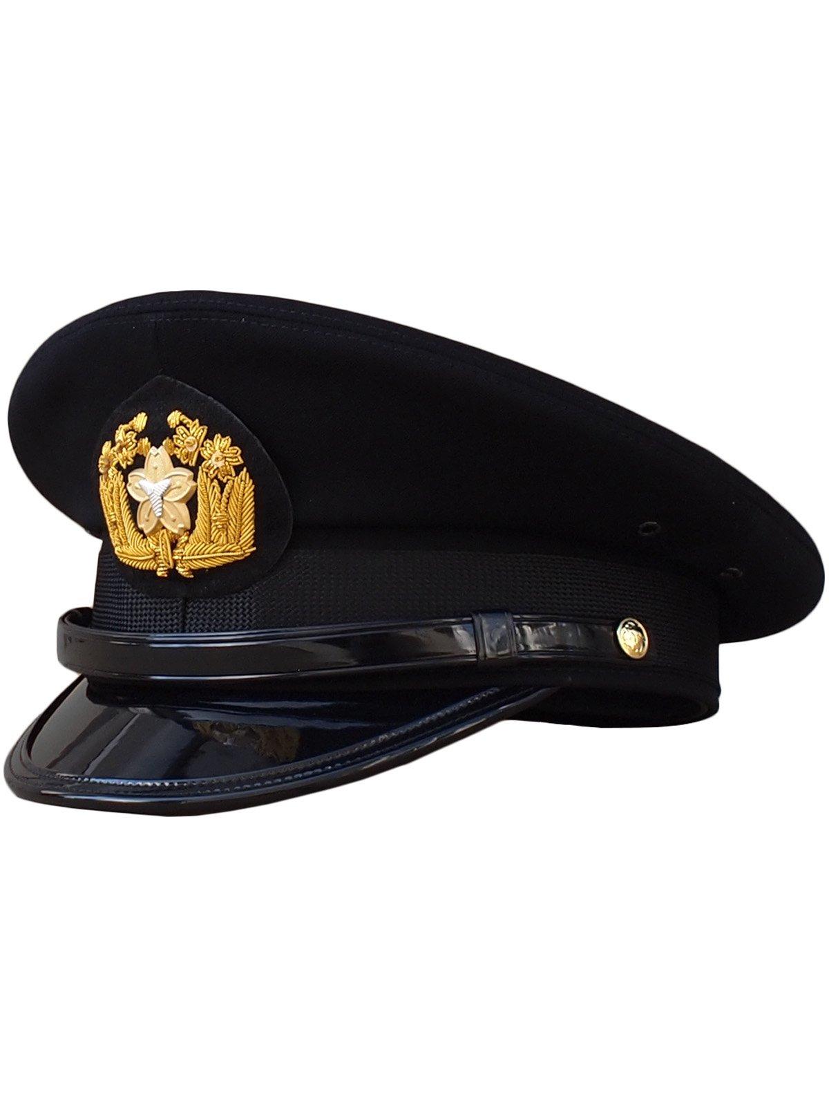 黒ドスキン冬制帽(甲種制帽)