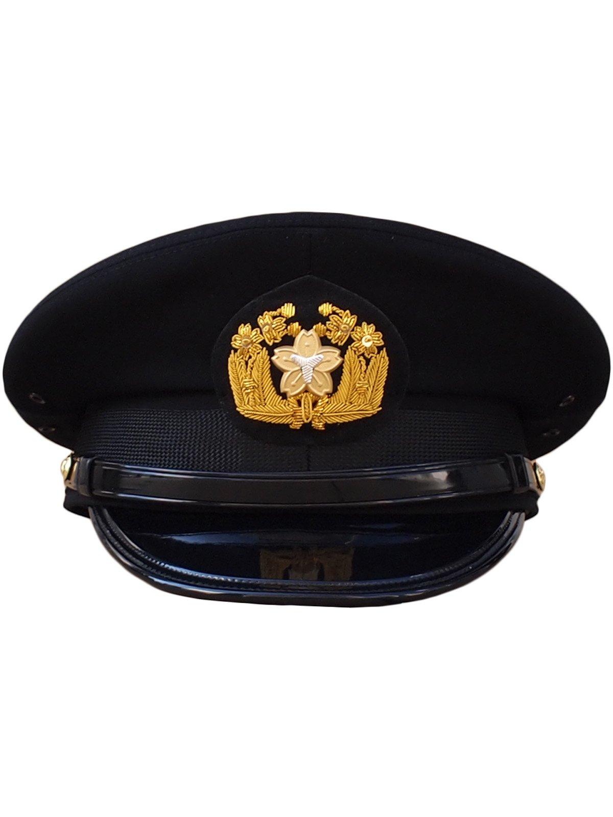 黒ドスキン冬制帽(甲種制帽)【画像2】