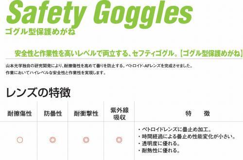 YG-6000消防ゴーグル【画像5】