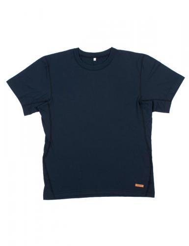 半袖ネイビー  防炎Tシャツ「モエンナ」(moenna)
