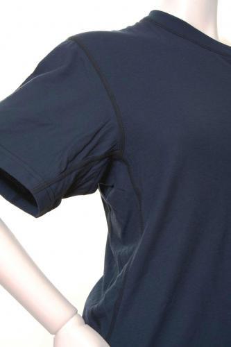 半袖ネイビー  防炎Tシャツ「モエンナ」(moenna)【画像2】