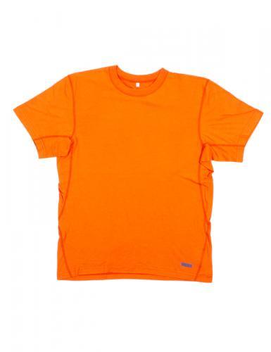 半袖オレンジ  防炎Tシャツ「モエンナ」(moenna)