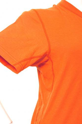 【在庫限り】半袖オレンジ  防炎Tシャツ「モエンナ」(moenna)【画像2】