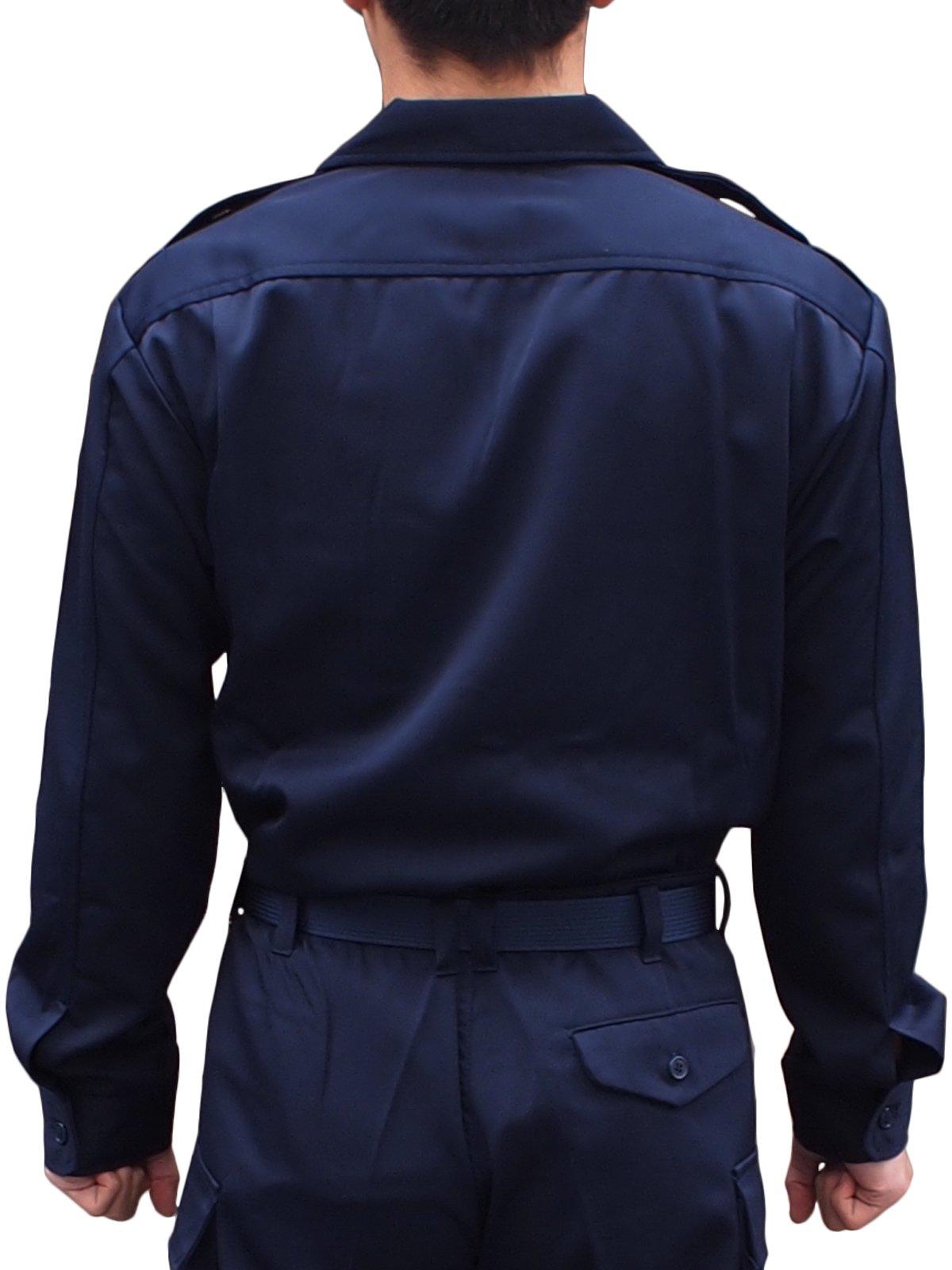 消防作業服開襟上衣【画像2】