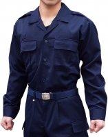 プリント可能商品【Tシャツ以外のウェア】 消防作業服開襟上衣