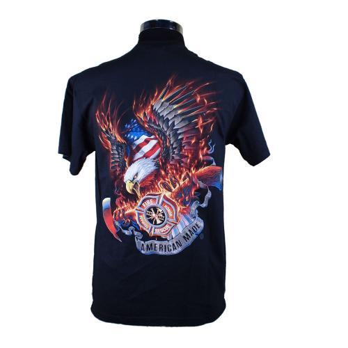 FireRescue Eagle 消防Tシャツ【画像3】
