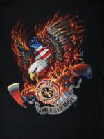 FireRescue Eagle 消防Tシャツ