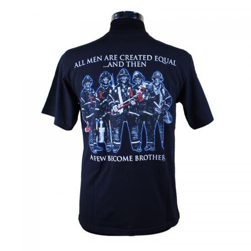 All Men Are Created Equal 消防Tシャツ【画像3】
