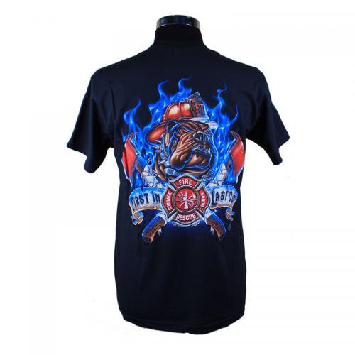 First In Last Out 消防Tシャツ【画像3】