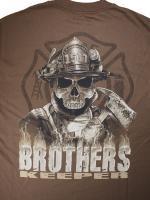 ウェア Brothers Kepper 消防Tシャツ
