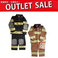 ウェア 【在庫限り特価】子供用防火服 【旧デザイン】
