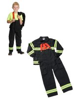 消防散水用ホース 子供用防火服 4〜6歳