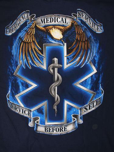 EMS Service Before Self 消防Tシャツ