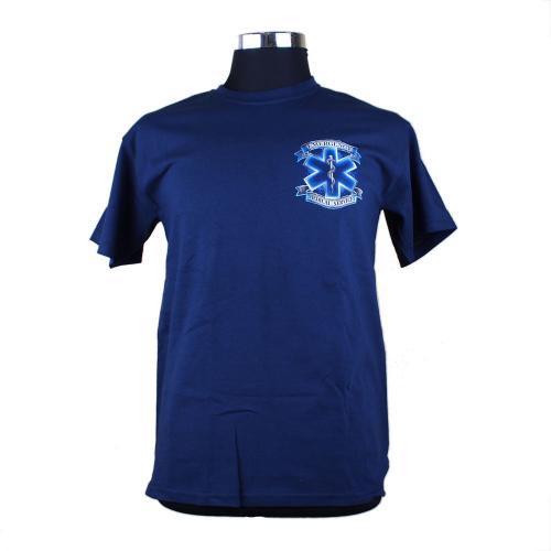 EMS Service Before Self 消防Tシャツ【画像3】