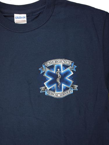 EMS Service Before Self 消防Tシャツ【画像4】