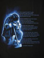 アメリカ消防Tシャツ Firefighters Prayer Tshirt, Valor Service Honor 消防Tシャツ