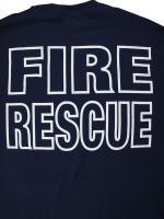 Fire Rescue Duty Shirt 消防Tシャツ