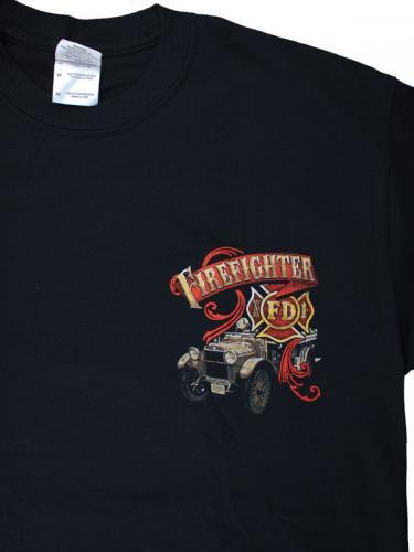 Always Ready Firefighter 消防Tシャツ【画像4】