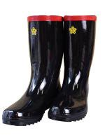 長靴 消防団ゴム長靴(日本製ステンレス踏み抜き防止板入り)●中国製
