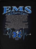 ウェア EMS Oath 消防Tシャツ