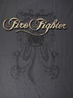ウェア Firefighter, Elite Breed Gray 消防Tシャツ