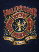Volunteer Firefighter 消防Tシャツ