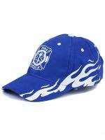 Blue Fire Rescue Flame Cap