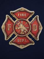ウェア Maltese Cross 消防Tシャツ