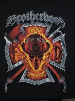ウェア Brotherhood Skull Firefighter 消防Tシャツ