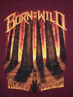 Born To Be Wild Wildland Firefighter 消防Tシャツ