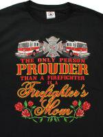 Proud Firefighters Mom  消防Tシャツ