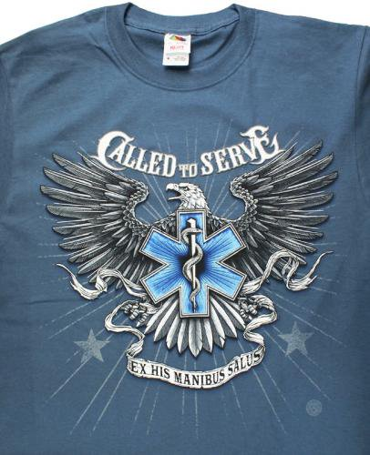 EMS Called to Serve Tshirt  消防Tシャツ