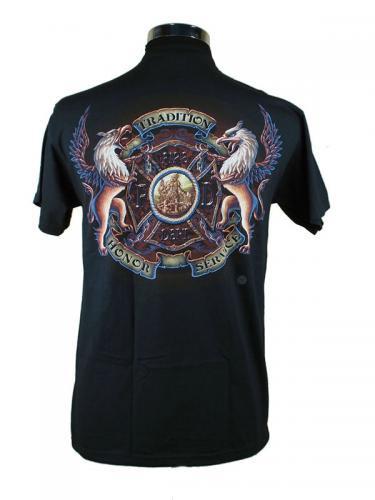 St Florian Tradition, Honor, Service 消防Tシャツ【画像3】