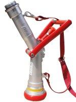 ホース関連・制水器具 ワンタッチ無反動管鎗 アルミ製・65mm 【未検定品】【送料無料】