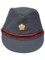 帽子 消防団グレー略帽