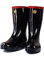 長靴 消防団ゴム長靴(ステンレス踏み抜き防止板入り)日本製