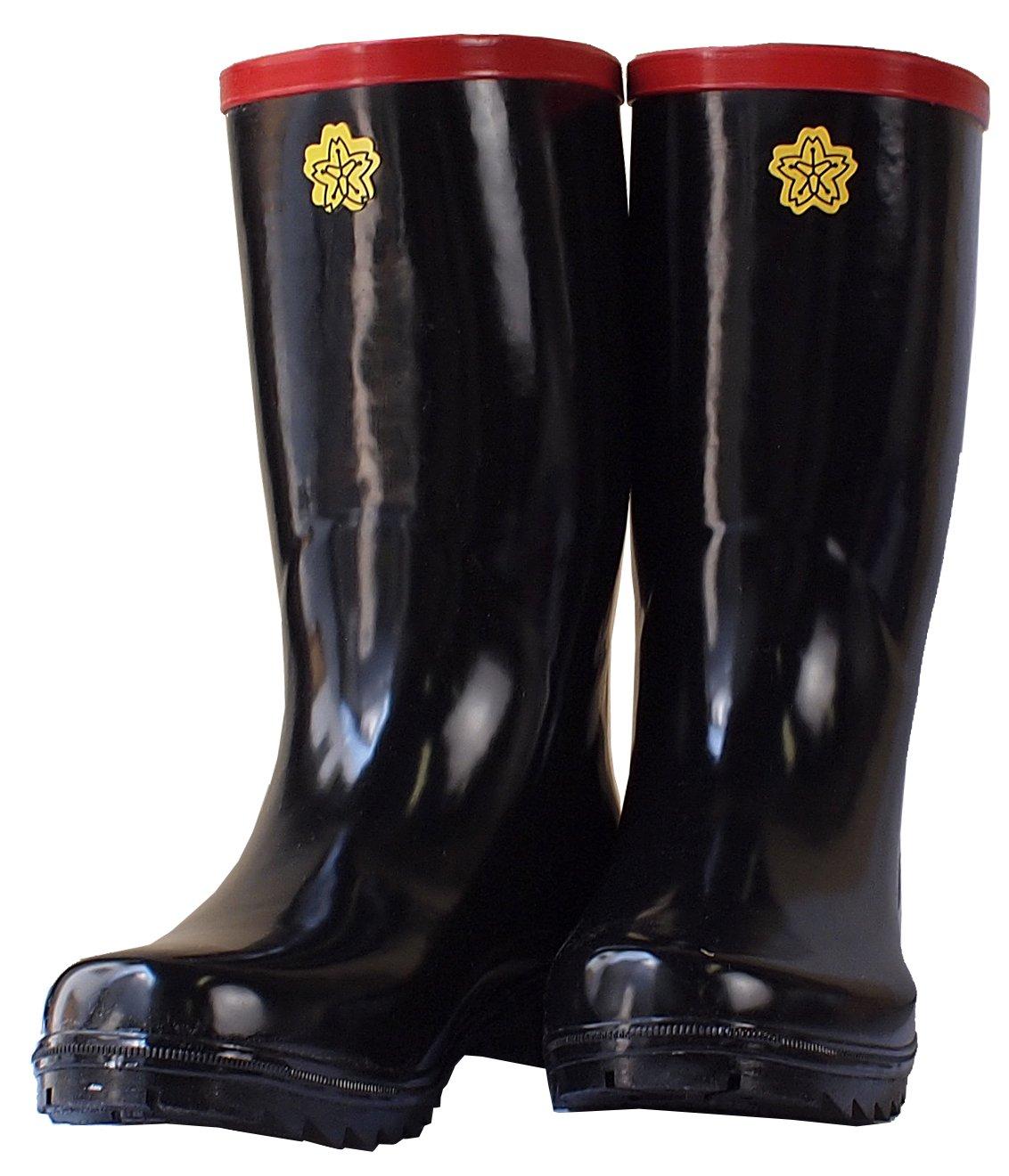 消防団ゴム長靴(ステンレス踏み抜き防止板入り)輸入品