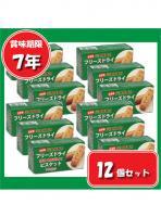 【7年保存】災害備蓄用 フリーズドライビスケット 【12個セット】 醗酵豆乳入