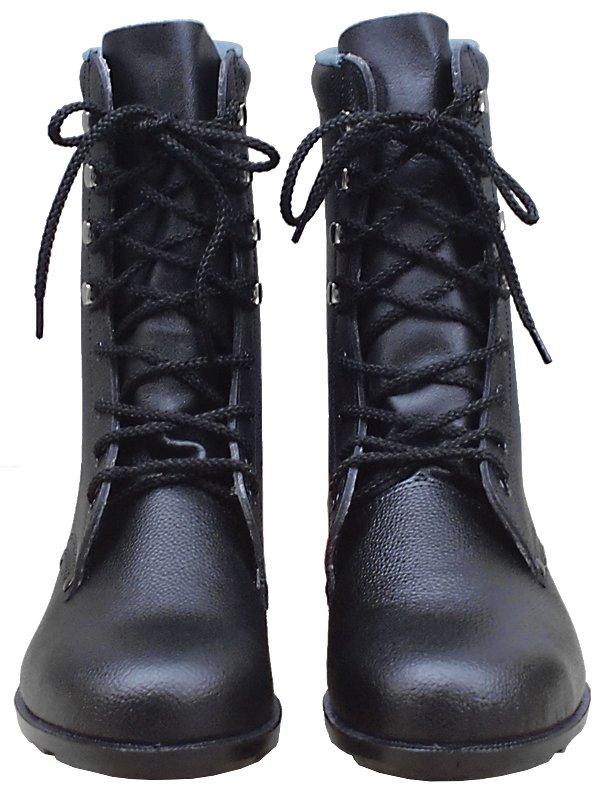 牛革長編上靴【画像3】
