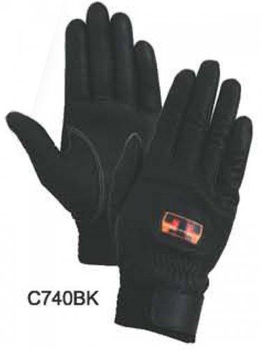 【在庫限り特価】トンボレスキュー手袋 C740W/C740BK (牛革)【画像2】