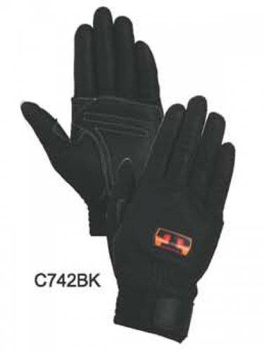 【在庫限り特価】トンボレスキュー手袋 C742W/C742BK (牛革)【画像2】