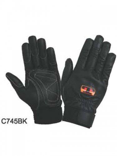 【在庫限り特価】トンボレスキュー手袋 C745W/C745BK(牛革)【画像2】