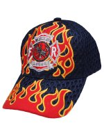 FIRE RESCUE メッシュキャップ