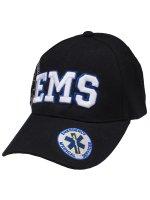 EMS Cap ロゴ青フチタイプ
