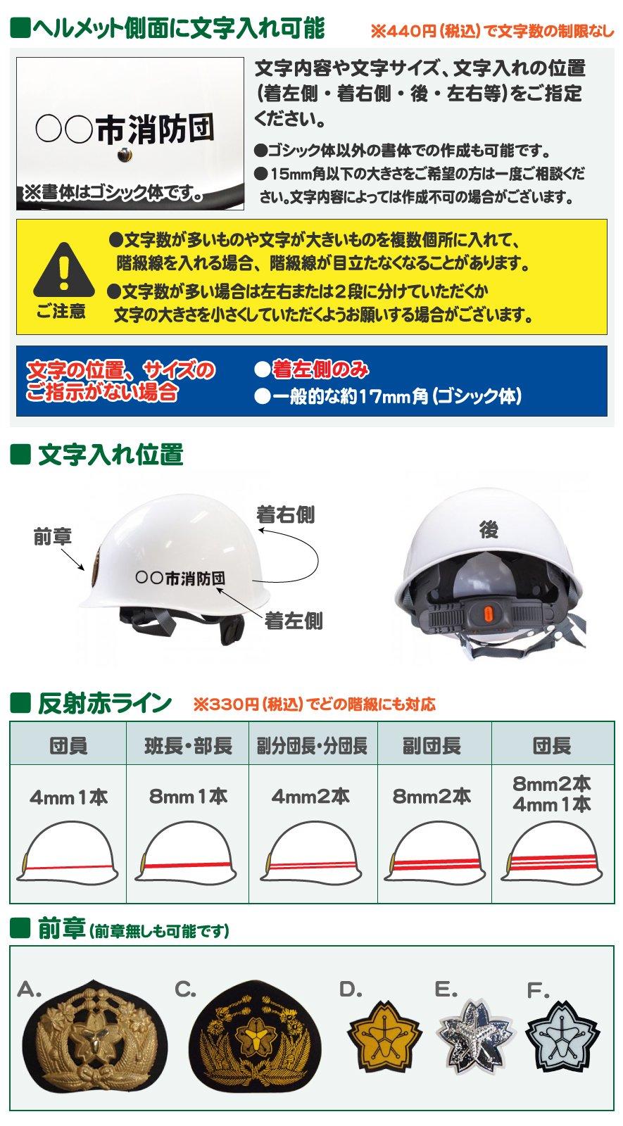子供用消防・防災ヘルメット 黄色【画像3】