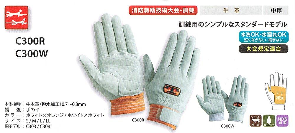 【在庫限り特価】トンボレスキュー手袋 C300R【画像3】
